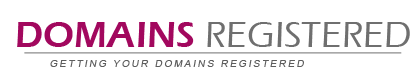 domains registered